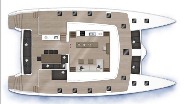 galux one catamaran layout (1) min -  Valef Yachts Chartering - 0487