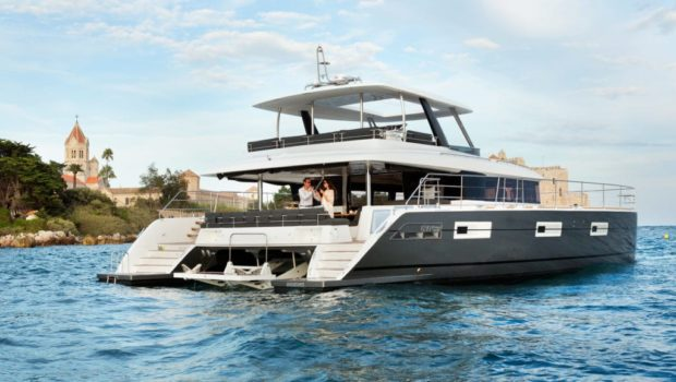 galux one catamaran profile (1) min -  Valef Yachts Chartering - 0481