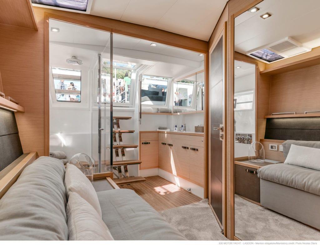 galux one catamaran salon min -  Valef Yachts Chartering - 0484