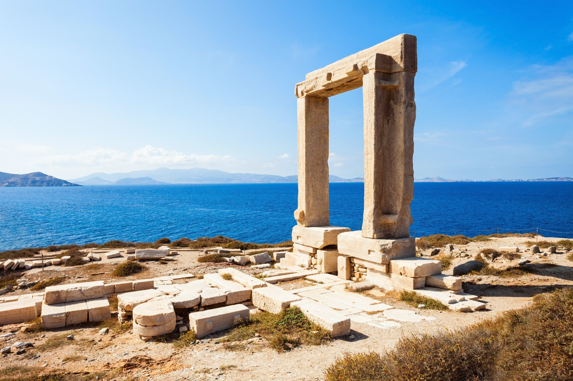 portara naxos ancient sites yachting min -  Valef Yachts Chartering - 0461