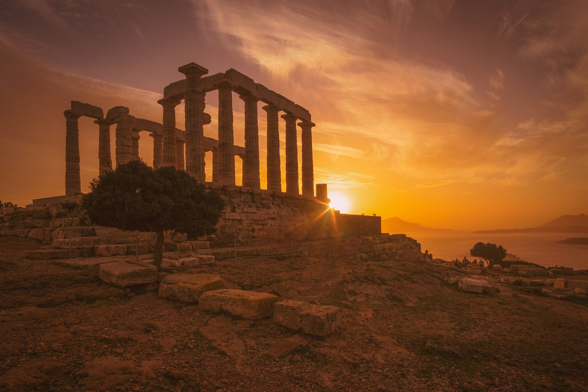 Sounion - Yachting - Ancient Greece