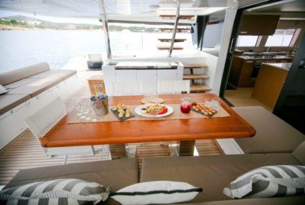 valium catamaran aft deck (10) min -  Valef Yachts Chartering - 0534