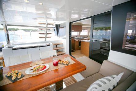 valium catamaran aft deck (11) min -  Valef Yachts Chartering - 0533