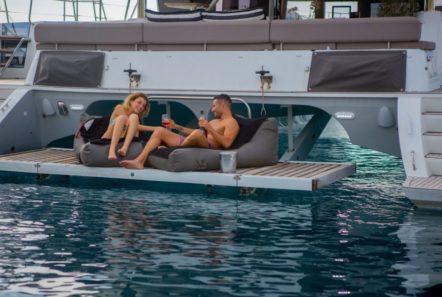valium catamaran aft deck (4) min -  Valef Yachts Chartering - 0540
