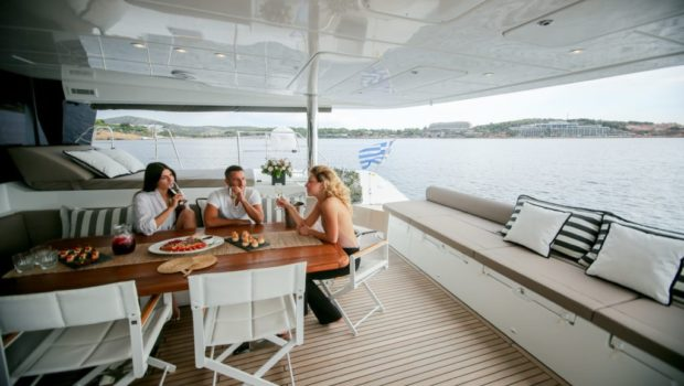 valium catamaran aft deck (5) min -  Valef Yachts Chartering - 0539