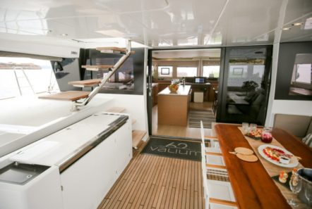 valium catamaran aft deck (6) min -  Valef Yachts Chartering - 0538