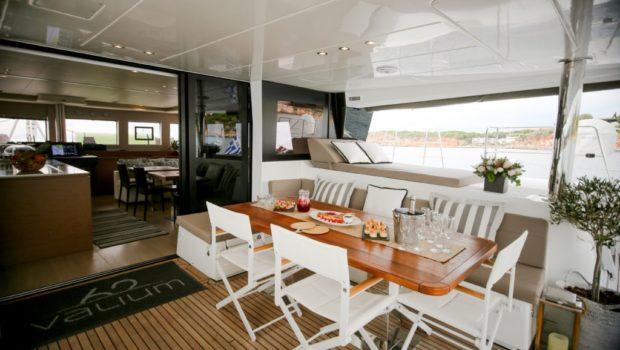 valium catamaran aft deck (7) min -  Valef Yachts Chartering - 0537