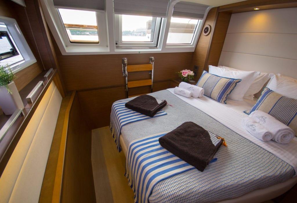 valium catamaran cabins (6) min -  Valef Yachts Chartering - 0558