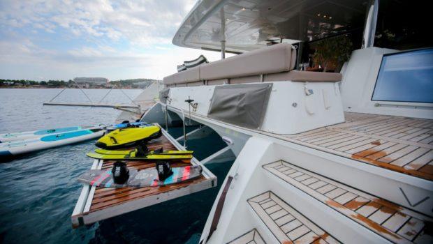 valium catamaran deck toys (1) min -  Valef Yachts Chartering - 0557