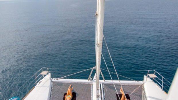 valium catamaran deck toys (2) min -  Valef Yachts Chartering - 0556