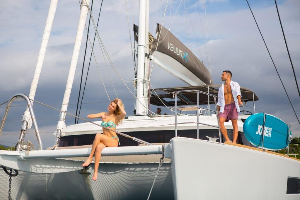 valium catamaran deck toys (3) min -  Valef Yachts Chartering - 0555