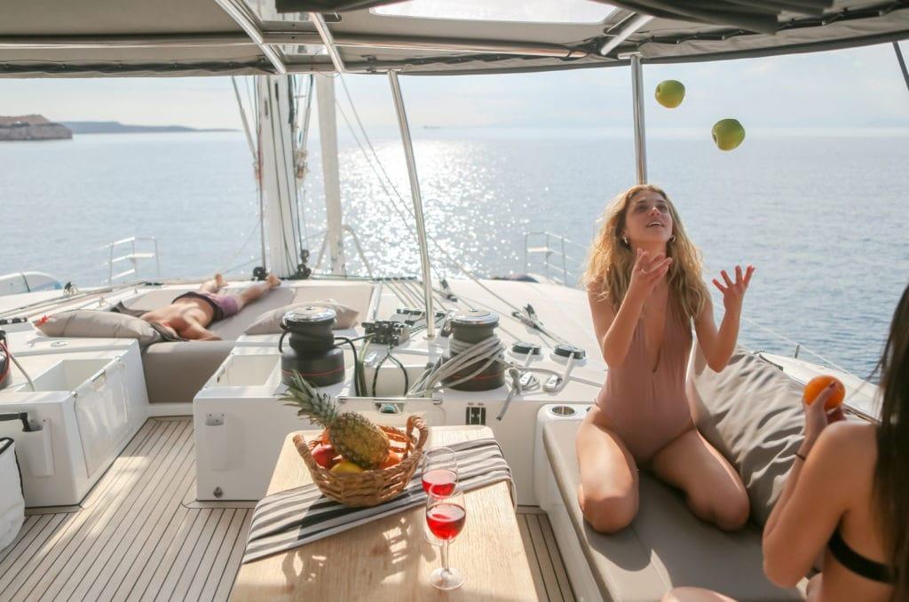 valium catamaran deck toys (4) min -  Valef Yachts Chartering - 0554