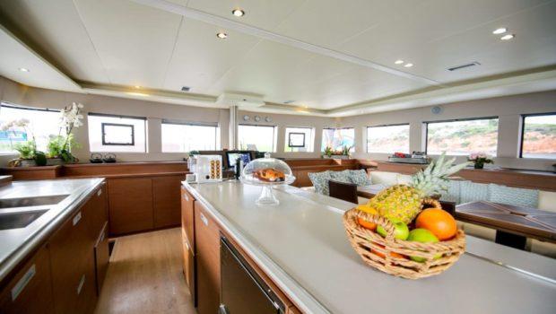 valium catamaran galley1 min -  Valef Yachts Chartering - 0548