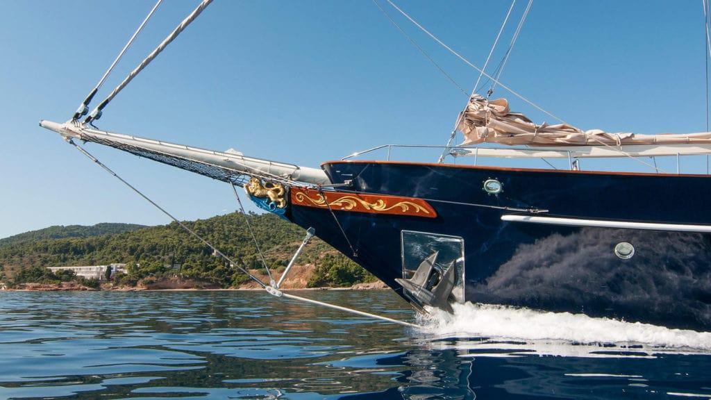 conrad malcolm miller sailing yacht bow min -  Valef Yachts Chartering - 0313