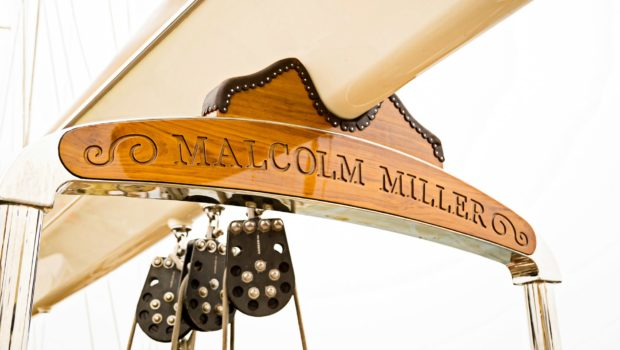 conrad malcolm miller sailing yacht detail min -  Valef Yachts Chartering - 0328