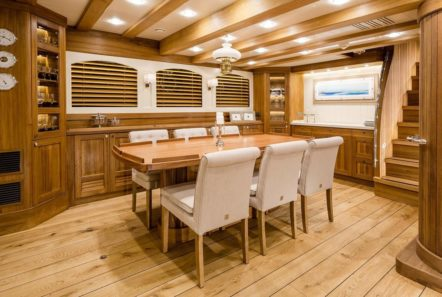 conrad malcolm miller sailing yacht dining min -  Valef Yachts Chartering - 0327