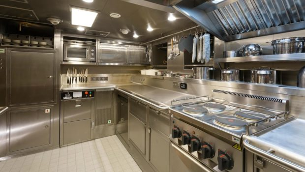 conrad malcolm miller sailing yacht galley min -  Valef Yachts Chartering - 0324