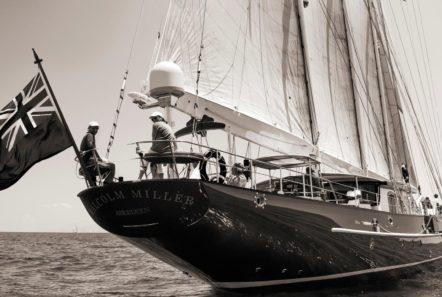 conrad malcolm miller sailing yacht stern min -  Valef Yachts Chartering - 0317