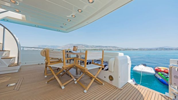 lettouli iii motor yacht aft deck (1) min -  Valef Yachts Chartering - 0393