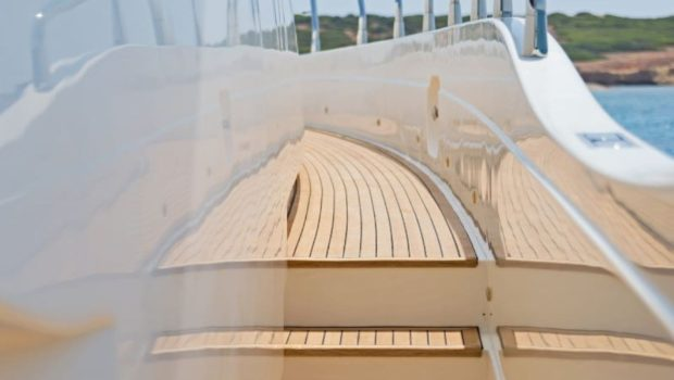 lettouli iii motor yacht ext detail (2) min -  Valef Yachts Chartering - 0382