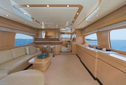 lettouli iii motor yacht salon (2) min -  Valef Yachts Chartering - 0359