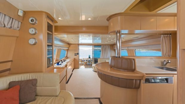 lettouli iii motor yacht salon (5) min -  Valef Yachts Chartering - 0356