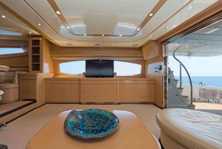 lettouli iii motor yacht salon (8) min -  Valef Yachts Chartering - 0353