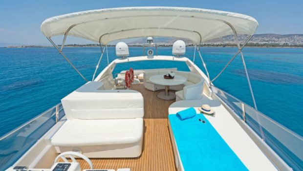 lettouli iii motor yacht sundeck (7) min -  Valef Yachts Chartering - 0398