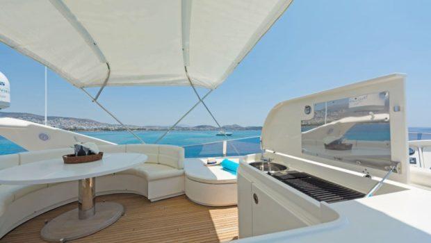 lettouli iii motor yacht sundeck (8) min -  Valef Yachts Chartering - 0397