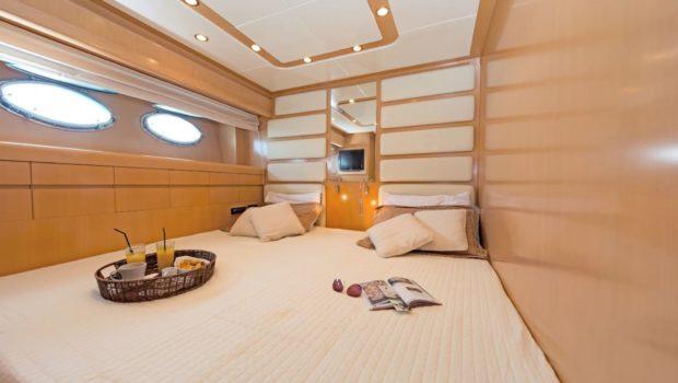 lettouli iii motor yacht twin convertible min -  Valef Yachts Chartering - 0394