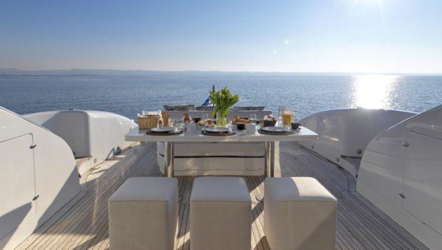 ruby motor yacht aft deck (1) min -  Valef Yachts Chartering - 0348