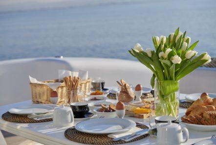 ruby motor yacht food (2) min -  Valef Yachts Chartering - 0334