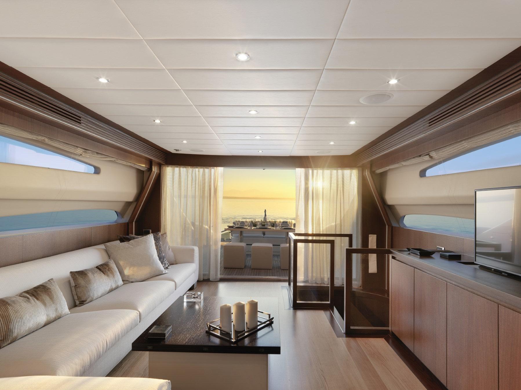 ruby motor yacht main salon min -  Valef Yachts Chartering - 0331