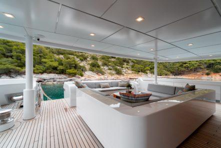 jaz motor yacht aft deck (1) min -  Valef Yachts Chartering - 0136