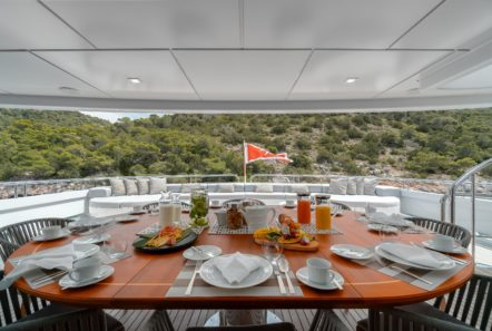 jaz motor yacht aft deck (6) min -  Valef Yachts Chartering - 0163