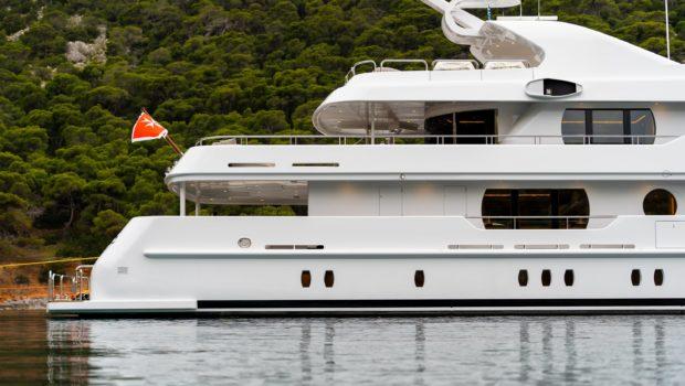 jaz motor yacht at bay (2) min -  Valef Yachts Chartering - 0160