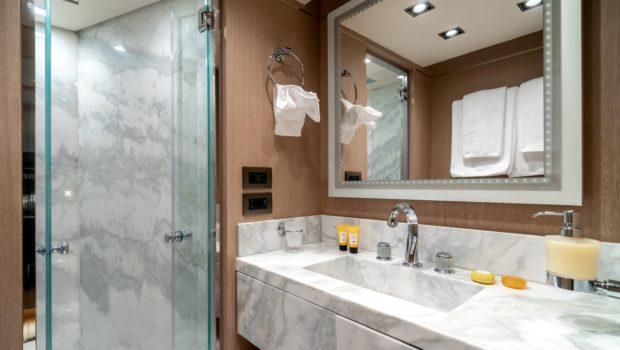 jazz motor yacht bathroom min -  Valef Yachts Chartering - 0152