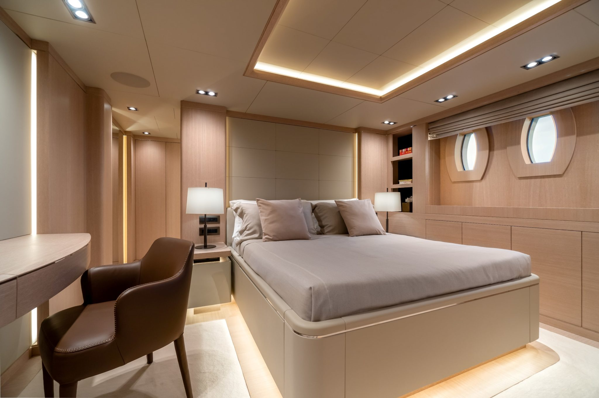 jazz motor yacht cabins baths (1) min -  Valef Yachts Chartering - 0150