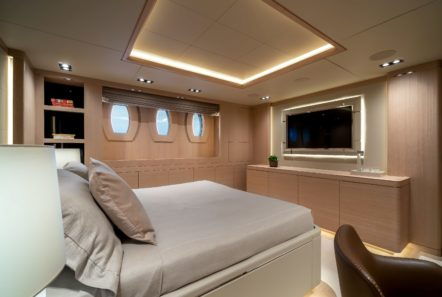 jazz motor yacht cabins baths (3) min -  Valef Yachts Chartering - 0148