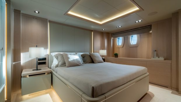 jazz motor yacht cabins baths (4) min -  Valef Yachts Chartering - 0147