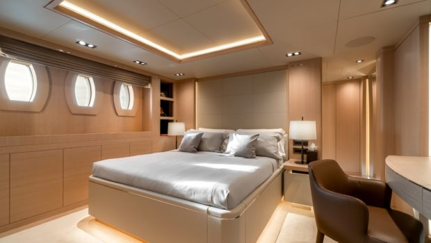 jazz motor yacht cabins baths (7) min -  Valef Yachts Chartering - 0144