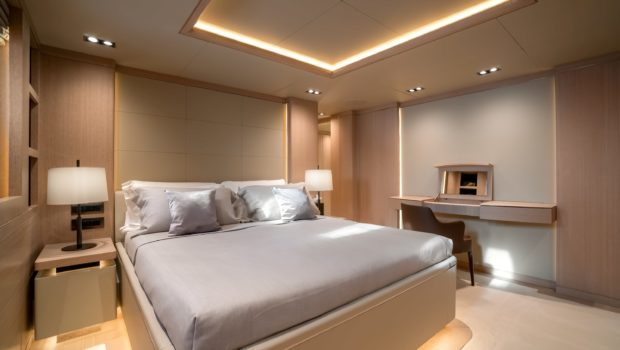 jazz motor yacht cabins baths (8) min -  Valef Yachts Chartering - 0143