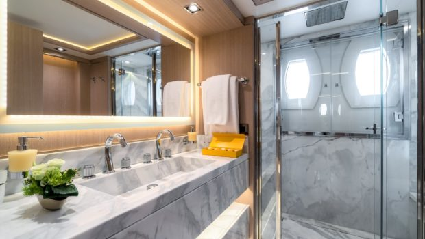 jazz motor yacht cabins baths (9) min -  Valef Yachts Chartering - 0142