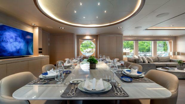 jazz motor yacht dining min -  Valef Yachts Chartering - 0138