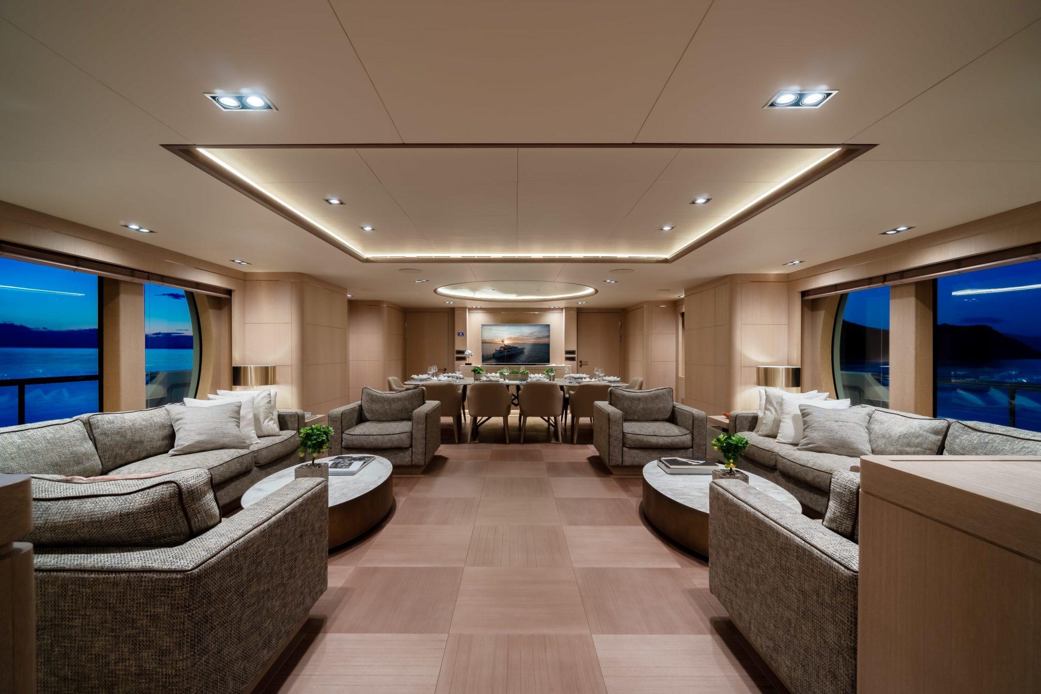 jazz motor yacht salon (1) min -  Valef Yachts Chartering - 0105