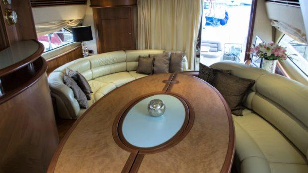 my joy aicon motor yacht dining -  Valef Yachts Chartering - 0245