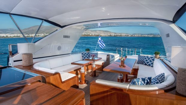 turn on motor yacht aft (3) -  Valef Yachts Chartering - 0174