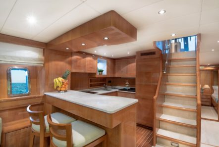 turn on motor yacht galley bar -  Valef Yachts Chartering - 0214