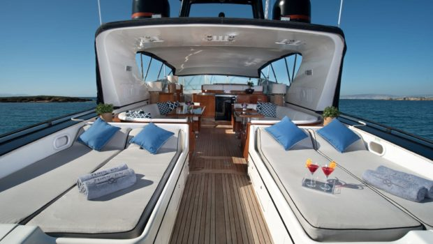 turn on motor yacht sun loungers (2) -  Valef Yachts Chartering - 0182