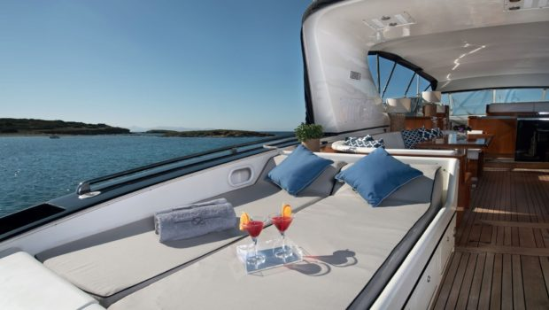 turn on motor yacht sun loungers (3) -  Valef Yachts Chartering - 0181
